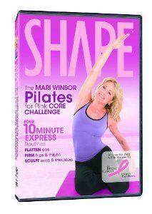 The Mari Winsor Pilates for Pink Core Challenge --- http://www.amazon.com/Mari-Winsor-Pilates-Pink-Challenge/dp/B002AL2TWO/?tag=kelansmobilem-20