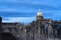 View from Radisson Blu Edinburgh