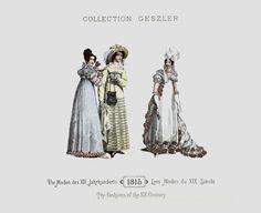 1815 - Collection Geszler ; Die Moden des XIX. Jahrhunderts / Les Modes du XIX. Siècle / The fashions of the XIX. Century