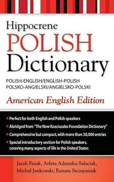 Polish-English English-Polish Dictionary by Jacek Fisiak