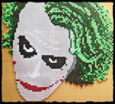 The Joker From Batman Hama perler sprite by M4ykeul on deviantART