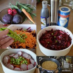 Detox podle Mačingové | brydova.cz Seaweed Salad, Beans, Vegetables, Ethnic Recipes, Food, Green, Meal, Beans Recipes, Eten