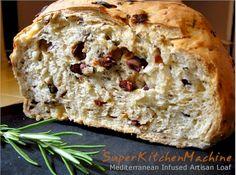 Sun-dried Tomato and Olive Bread » Super Kitchen Machine (Thermomix)
