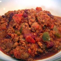Smoky Firehouse Chili by EclecticRecipes.com #recipe | FIREHOUSE ...