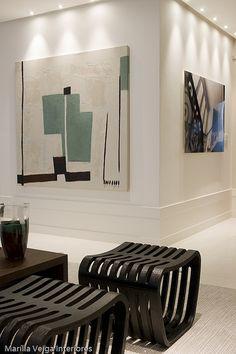 Modern wall art and interior