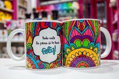 Tazas de Ceramica Lo unico imposible es aquello que no intentas Colores en internet