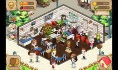 요즘 하고 있는 i love coffee라는 게임인데 저는 이렇게 오랫동안 공들여서 하는 게임을 좋아해요 ^.^ fuuuuun :)