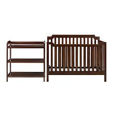 Dorel Baby Relax Kypton 3 in 1 Crib with Changing Table Espresso