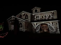 It was a great night for our year doing a Haunted House projection. The neighborhood showed up in big numbers and cleaned out our candy supply pretty goo. Outdoor Halloween, Halloween House, Halloween Crafts, Spooky Music, Real Wife, Country Christmas Decorations, Projection Mapping, Light Music, Great Night