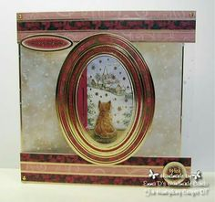 Hunkydory Crafts Santa Paws - DT cards I made
