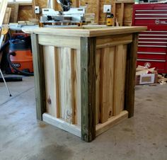 DIY treated wood planter box. Made by me, Mitch. Great for flowers or vegetables
