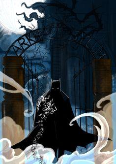 sideshow art print batman - Google Search