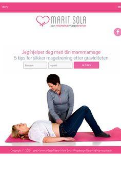 UnikNettside for mammamagetrener.no