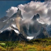 Paysage des Andes au Chili (by Bajy) Places Around The World, Around The Worlds, Torres Del Paine National Park, Panoramic Photography, Equador, Tours, South America Travel, Land Scape, Beautiful Landscapes