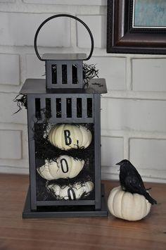 Decorar con farolillos para Halloween