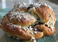 Treccia alla nutella ricetta pan brioche   <3