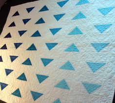 flying geese baby quilt 1 | Flickr - Photo Sharing!