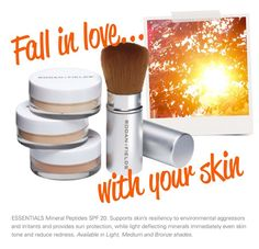Fall in love with your skin with Rodan+Fields Mineral Peptide Powder