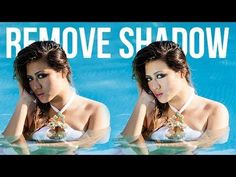 How to Fix and Remove Harsh Shadows from Face in Photoshop - YouTube