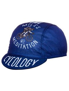 Miles are my Meditation Cycling Cap Cycling Equipment db9a6af45676