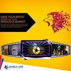 Create more visibility with Marlia Ads advertising services.   #Think #Different #MarliaAds #AdFilms #CorporateFilms #Animation #PhotoShoot