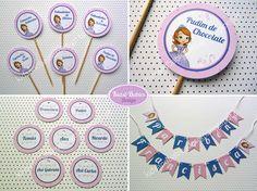 Kids&Babies: Party printables :: Princesa Sofia Party Printables, Baby Kids, Babies, Design, Trout, Babys, Baby, Infants