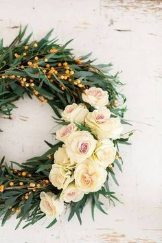 a nice wreath for spring.