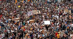 Sputnik News - A general strike, announced on Tuesday in Catalonia, has affected tourists' plans, as getting a taxi to the airport became impossible, most of the streets in the center of Barcelona are blocked, and popular tourist sights are closed.