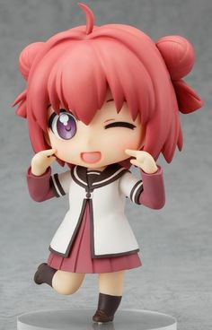 Feast your eyes on these glorious pics of the upcoming #Nendoroid version of YuruYuri's Akari Akaza:    #anime