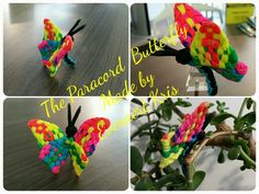 The Paracord Butterfly Made by Everaert Kris #paracord #butterfly #animals #everaert #kris