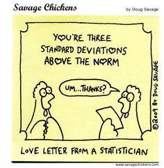 Statistician love note