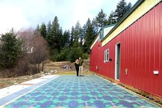Solar Roadways Unveils Super Strong Solar Panels for Roads in Prototype Parking Lot | Inhabitat - Sustainable Design Innovation, Eco Architecture, Green Building