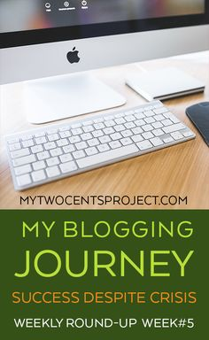 Week #5 of my blogging journey!  Many successes this week despite facing personal challenges - lots of lessons learned!