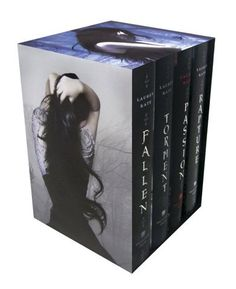 The Fallen Series was very good, but the ending was bittersweet. Read them and you will see. I have never read about a love, so passionate and true......