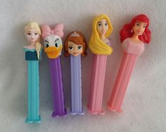Lot of 5 Used Disney Princess Pez dispensers | Collectibles, Pez, Keychains, Promo Glasses, Pez | eBay!