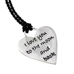Buy silver jewellery online Poetic Pieces Silver Heart Pendant with Silk Necklace Silver Jewellery Online, Silver Jewelry, Engraved Jewelry, Silver Gifts, Love Heart, Custom Jewelry, Valentine Day Gifts, Dog Tag Necklace, Pendants