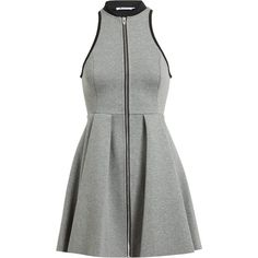 T BY ALEXANDER WANG Racer-Back Jersey Dress found on Polyvore