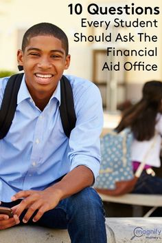 Students should be prepared to ask the financial aid office at their school 10 important questions to maximize the odds of receiving financial aid or obtaining scholarships. http://www.magnifymoney.com/blog/college-students-and-recent-grads/10-questions-every-student-should-ask-the-financial-aid-office #debt Get out of Debt Debt Free