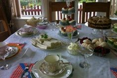 Mad Hatters Vintage Tea Party Table Decor