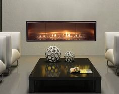 lhd50 napoleon linear fireplace for master bedroom (below TV), in custom wall unit to be constructed across from bed;
