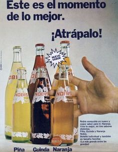 Nobis Retro Ads, Vintage Advertisements, Vintage Toys, Retro Vintage, Orange Crush, Hot Sauce Bottles, Coca Cola, Nostalgia, Packaging