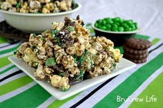 Top 10 Popcorn Recipes: Fudge Mint Popcorn