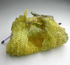 Juxtapoz Magazine - Carol Milne Knits with Glass
