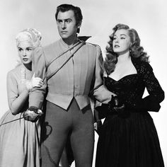 Janet Leigh, Stewart Granger and Eleanor Parker in SCARAMOUCHE ('52)