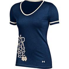 Fighting Irish women's baseball t-shirt