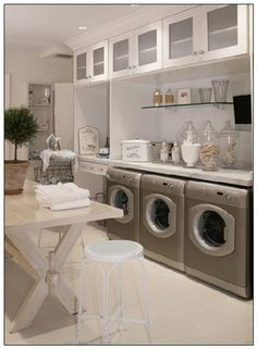 ***3 washers = laundry done in 1 hour