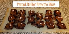 Ideal Protein Phase 1 (using alternative products) Peanut Butter Brownie Bites
