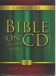 Bible On Audio CD Volume 6: Luke 12-24 New Testament (CD, 2005)