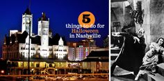 5 Halloween-Y Things to do in Nashville - Parthenon Publishing