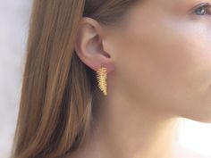 Solid Gold Hoop Earrings/ Gold Hoop Earrings/ Gold Earrings/ Small Gold Hoops Earrings/ Tiny Gold Hoops These classic yellow gold endless hoops are here to stay - so why not integrate them into your everyday wear If you have any additi Small Gold Hoops, Small Gold Hoop Earrings, Dainty Earrings, Leaf Earrings, Dangle Earrings, Statement Earrings, Bridal Earrings, Minimalist Earrings, Minimalist Jewelry